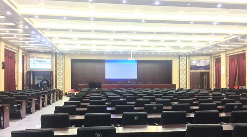 山东昌邑电力第一会议室十年前就是潍坊电力的标杆项目,在电力行业...